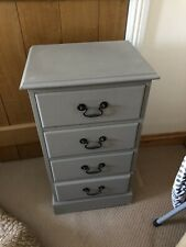 Painted Tallboy Drawers - Grey