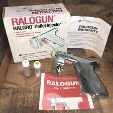 Ralogun Ralgro Implant Pellet Injector Schering-Plough Animal Health New Open Bx