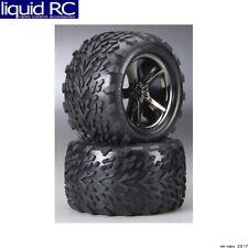 Traxxas 5374A Gemini Black Chrome E-Tires/Wheels (2)