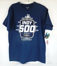105TH Indy 500 Indianapolis Motor Speedway May 30, 2021 Blue T-Shirt New