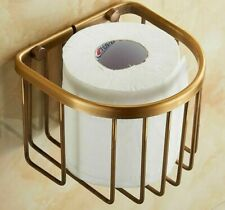 Bathroom Accessories Tissue Roll Holder Wall-mount Toilet Paper Storage Rack New