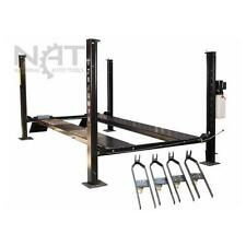 "New 8,000 lbs. 4-Post XLT Service/Storage Lift - 15"" Longer 10"" Taller Hoist"
