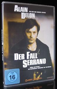 DVD DER FALL SERRANO - ALAIN DELON + ORNELLA MUTI + KLAUS KINSKI *** NEU ***