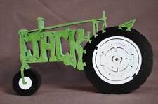 JACK  Personalized Green Farm Tractor NEW Wood Toy Puzzle Hand Made USA