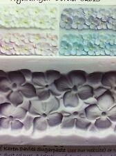 Karen Davies Hydrangea Border Mould for Sugarcraft Cake Decorating NEXT DAY DESP