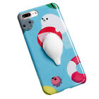 3D teléfono Panda Oso De Silicona Carcasa Protectora para iPhone 6 SPlus 7 Plus