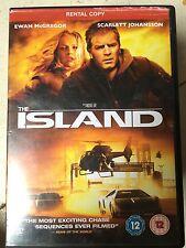 Ewan McGregor Scarlett Johansson THE ISLAND ~ 2005 Sci-Fi Thriller UK DVD