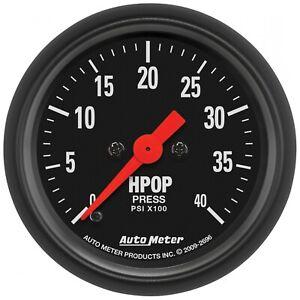 "Auto Meter For 2-1/16"" HPOP Pressure 0-4K PSI Stepper Motor Z-Series - 2696"