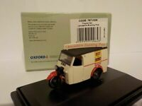 Tricycle Van - Lancashire evening news, Oxford Diecast 1/76 New