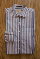 Tommy Bahama Relax Striped Casual Shirt Long Sleeve Men Size Large