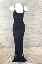 MARA HOFFMAN DRESS Swim Black Stretch Sleeveless Size XS
