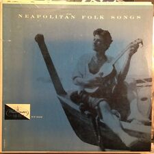 Neapolitan Folk Songs LP Vinyl Westminster Hi-fi WP 6012 Gafni Rossini Guitar
