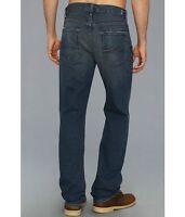 $198 Men's Seven 7 For All Mankind Carsen Easy Straight Cotton Jeans 29 32 Dark