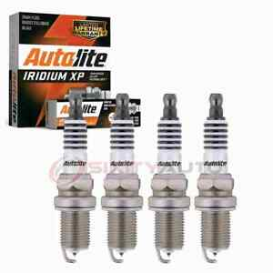 4 pc Autolite Iridium XP Spark Plugs for 1999-2013 Volkswagen Jetta 1.8L jh