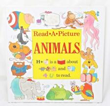 Read a Picture Book with Animal Friends Pictures Words Association Phonics Fun