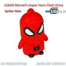 Marvel Spider-Man 128GB Flash Drive USB Memory Stick Action Avengers Pen Drive