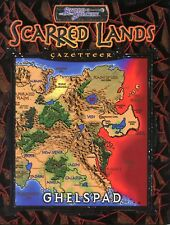 SCARRED LANDS GHELSPAD SWORD AND SORCERY GAZETTEER BRAND NEW SEALED! AD&D