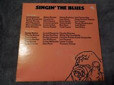 Singin' The Blues LP 2 Record Comp Classic Blues VG+ Billie Holiday Joe Turner
