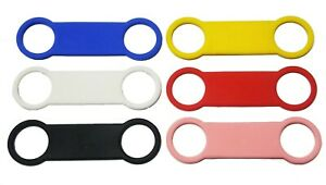 SLIDE ON COLLAR PET DOG CAT TAG - SILICONE REPLACEMENT PART