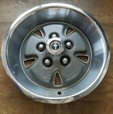 "1971 1972 1973 Ford Mustang 14"" Hubcap Rim Wheel Cover Hub Cap OEM USED"