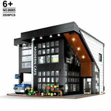 2926Pcs Creator Expert Modern Café  Building Block Set Compatible with Kids Toys