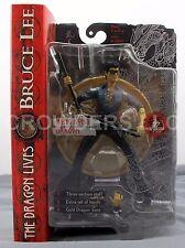 "Bruce Lee The Dragon Lives HONG KONG DRAGON 7"" Action Figure Art Asylum NIP '01"