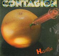 """CONTAGION """"HANTISE"""" PUNK ROCK LP 1980 CARRERE 67.639"""