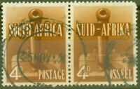 South Africa 1942 4d Red-Brown SG92a Fine Used