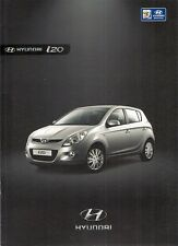 Hyundai i20 2009-10 UK Market Sales Brochure Classic Comfort Style 1.2 1.4 CRDi