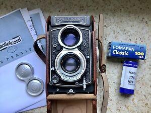Rollei Rolleicord Va TLR 6x6 mit XENAR 3,5/75 ungebrauchter Sammlerzustand