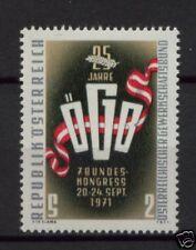Austria 1971 SG#1619 Trade Unions Fed. MNH