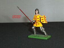 Britains 41081 Jaques de crequy Medieval Caballero De Metal Figura Soldado de juguete del pie