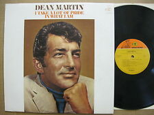 Dean Martin LP 1969 I take a lot of pride in what I am EX stereo