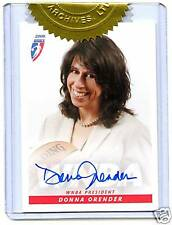 2006 WNBA PRESIDENT AUTO DONNA ORENDER  VERY RARE