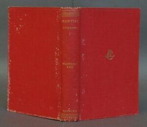 Martial- Epigrams Vol I (Loeb Classical Library) Latin to English Translation