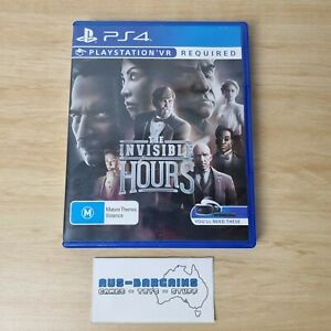 The Invisible Hours - PS4 Sony PlayStation 4 R4 AUS PAL VR PSVR