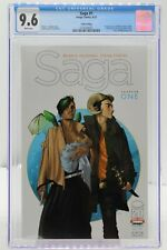 Saga #1 - CGC 9.6 - Fifth Printing CGC 9.6 White Pages