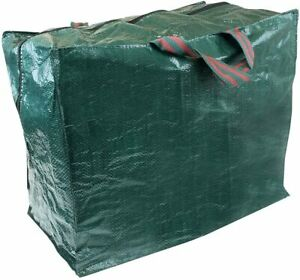 Large 50L Storage Bag with Zips for Reusable Multi-Use Home Outdoor Garden Sack