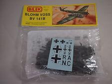 Bilek Blohm & Voss WWII German Airplane BV 141B Plastic Model Kit. 1/72 scale
