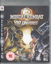 Mortal Kombat vs DC Universe (2008) New Factory Sealed Europe PlayStation 3 PS3