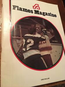 1972-73 Atlanta Flames Program Magazine VS Minnesota North stars