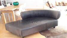 Sofa, Rolf Benz, schwarz, Leder, gebraucht