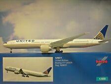 Herpa Wings 1:500 Boeing 777-300ER  United Airlines  529877 Modellairport500