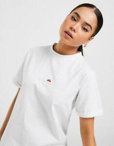 New Ellesse Women's Core Logo Boyfriend T-Shirt from JD Outlet