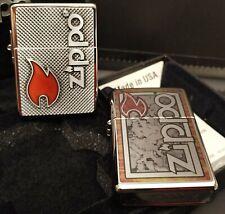 Zippo 2er Set: 1935er Replica,LIMITED EDITION xxxx/1000, COTY 2018 +Zippo Fusion