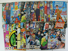 Justice League Europe Lot of 21 DC Comics 1989 Copper Age VG+ - VF