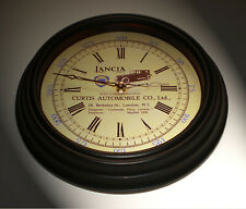 Lancia Vintage Style Car Dealers Clock, Curtis, Piccadilly London 1920's