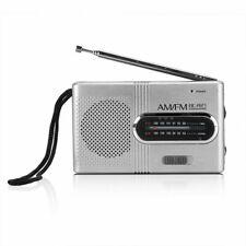Mini Portable AM/FM Radio Telescopic Antenna Pocket Small World Receiver Speake