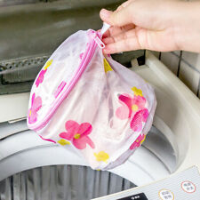 Women Washing Net Bag For Lingerie Delicate Hosiery Wash Mesh Zipper Laundry Bra