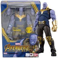 Bandai Tamashii S.H.Figuarts Marvel Avengers Infinity Wars Thanos Action Figure